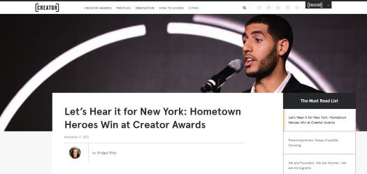 WeWork Magazine press clip